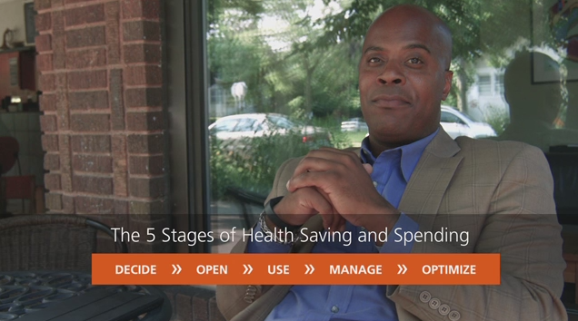 The 5 stages of health saving and spending